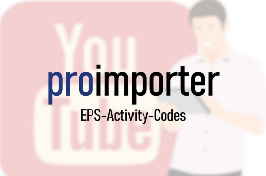 In our video we show you how to import activity codes on EPS level