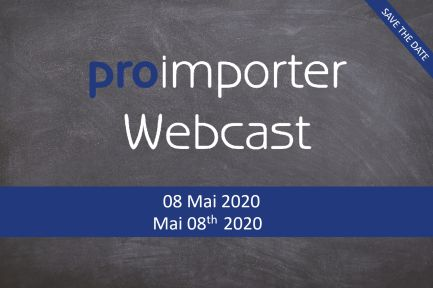 proimporter Webcast may, 8th 2020