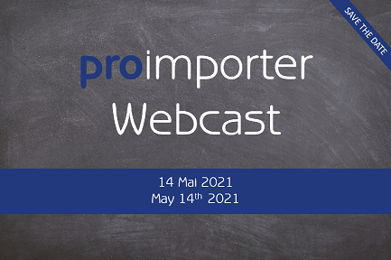 proimporter Webcast am 14. Mai 2021